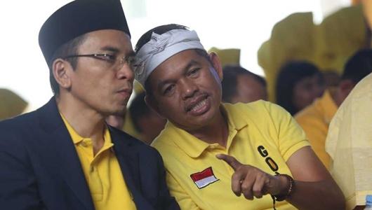 Dedi Mulyadi dan TGB Bakal Berduet Menangkan Golkar di Jawa Barat
