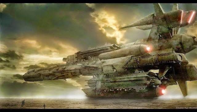 Γιγαντιαία διαστημόπλοια – Μύθος ή πραγματικότητα;