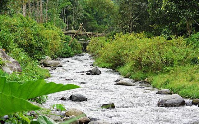 Derasnya aliran sungai Ledok Amprong