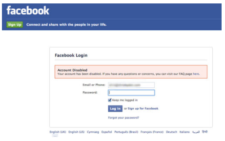 Reactivate Facebook After Deactivating