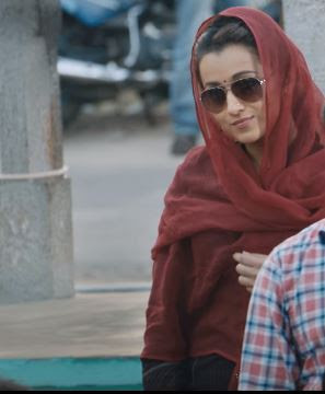 Trisha Krishnan Look, Images in Kodi Movie