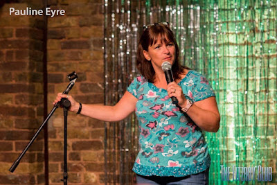 Pauline Eyre comedian at Women in Sisterhood May Event
