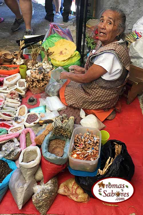 Mercado mexicano de Etla
