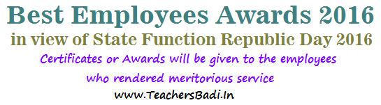 Best Employees Awards 2016,State Function,Republic Day
