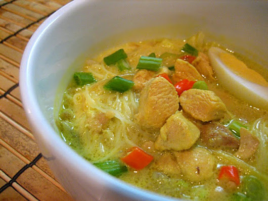 Chicken Noodle Soup (Soto Ayam)