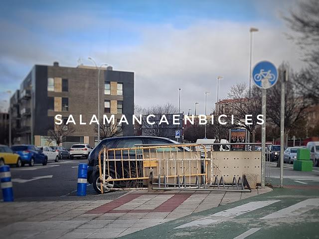 Salamanca, aparcabicis, bicicleta, bici
