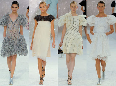 72c4bb01dd3641 Dress in white dominate the summer collection of clothes from Chanel. It  seems that the designer wanted to convey the beauty of the merry waves that  foam ...