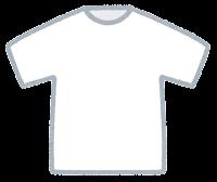 Tシャツのイラスト(白)