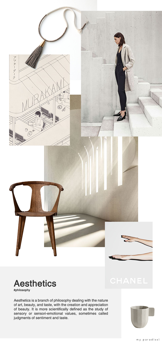 Inspiration moodboard curated by My Paradissi