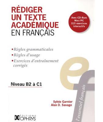 Télécharger Livre Gratuit Rédiger un texte académique en français pdf