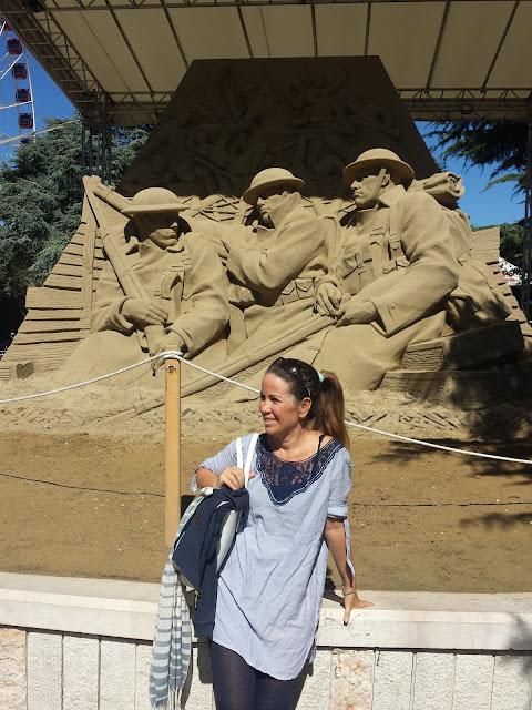 Le sculture di sabbia di Jesolo