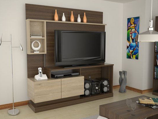Desain Rak TV Minimalis Modern