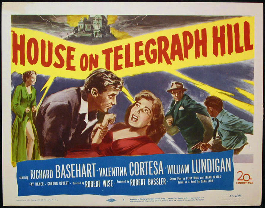 Dear Old Hollywood: The House on Telegraph Hill (1951) - Film Locations