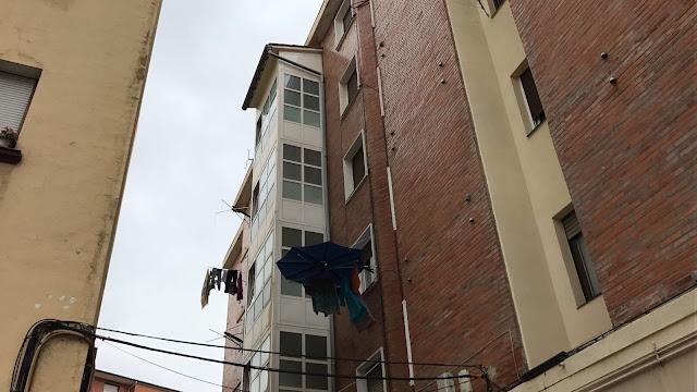 Ascensor en un edificio de Barakaldo