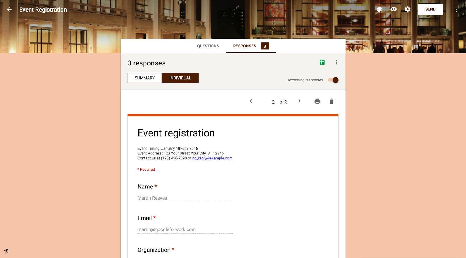 Google Forms Templates | G Suite Updates Blog New Google Forms Now The Default Option With
