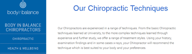 well-known chiropractic clinic in Victoria
