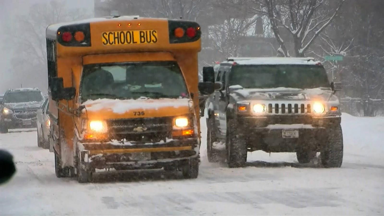 Minneapolis, St. Paul Public Schools Cancel Classes Amid April Snowstorm