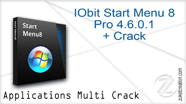IObit Start Menu 8 Pro 4.6.0.1 + Crack