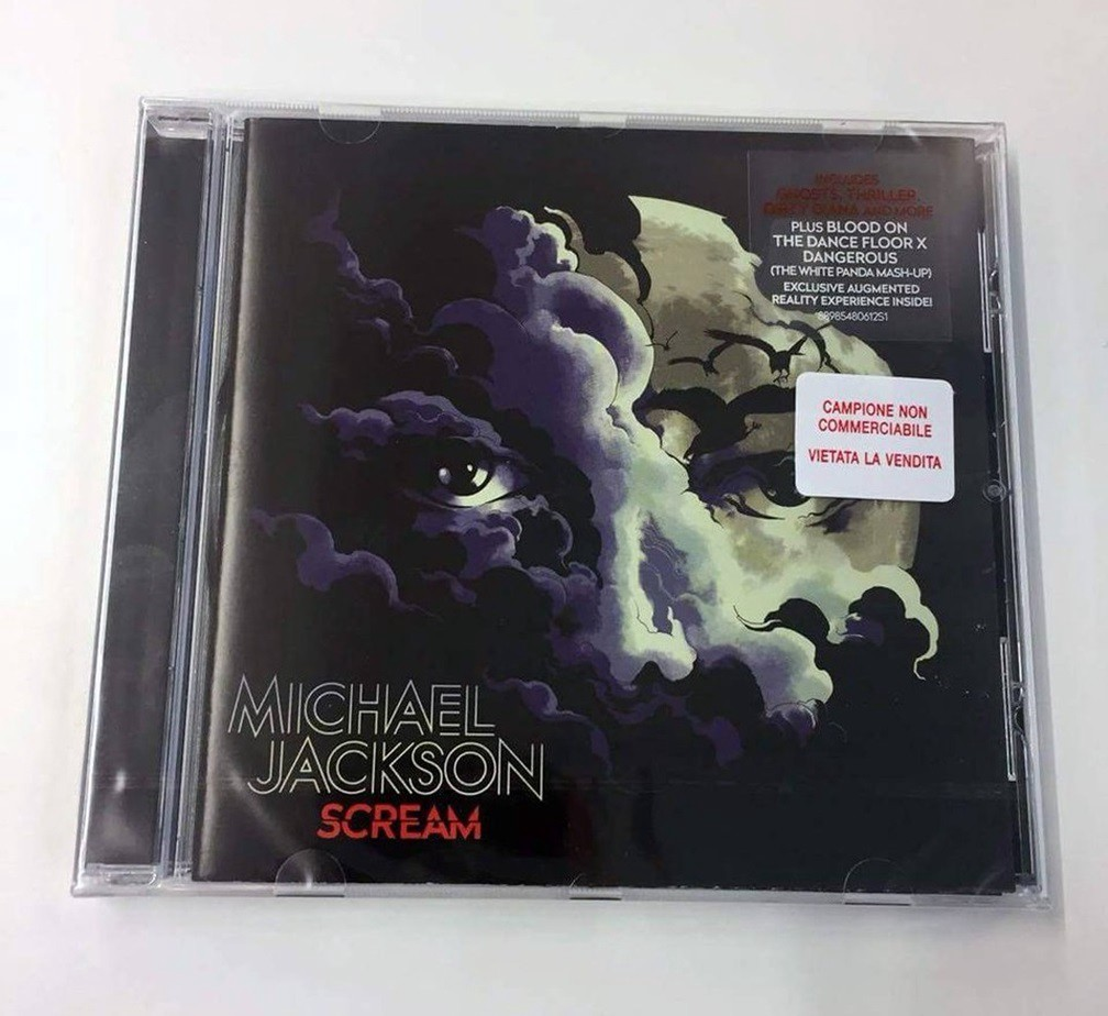 203bc0b0a9 SCREAM', novo álbum de Michael Jackson chega às lojas - MJVIPCLUB ...