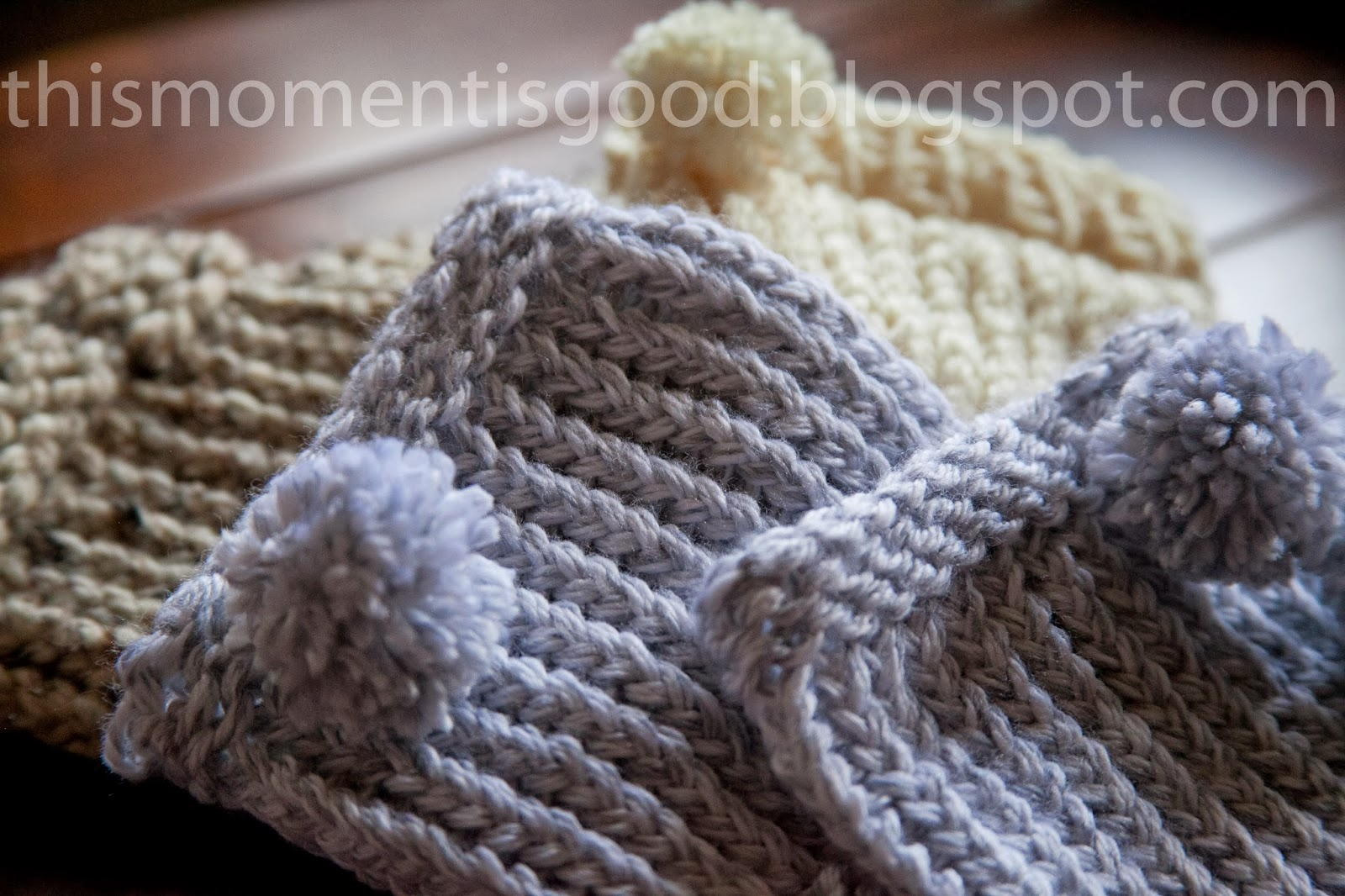 LOOM KNITTING: BOOT CUFFS | Loom Knitting by This Moment is Good!