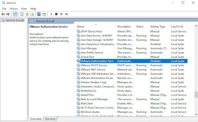 VMware Authorization Service