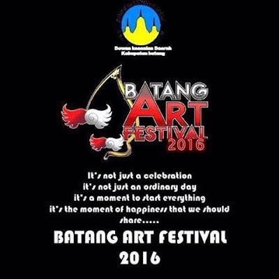 "EVENT: Batang | 9 – 16 April 2016 | BATANG ART FESTIVAL | HUT 50 Tahun Kabupaten Batang ""Batang Emas"""