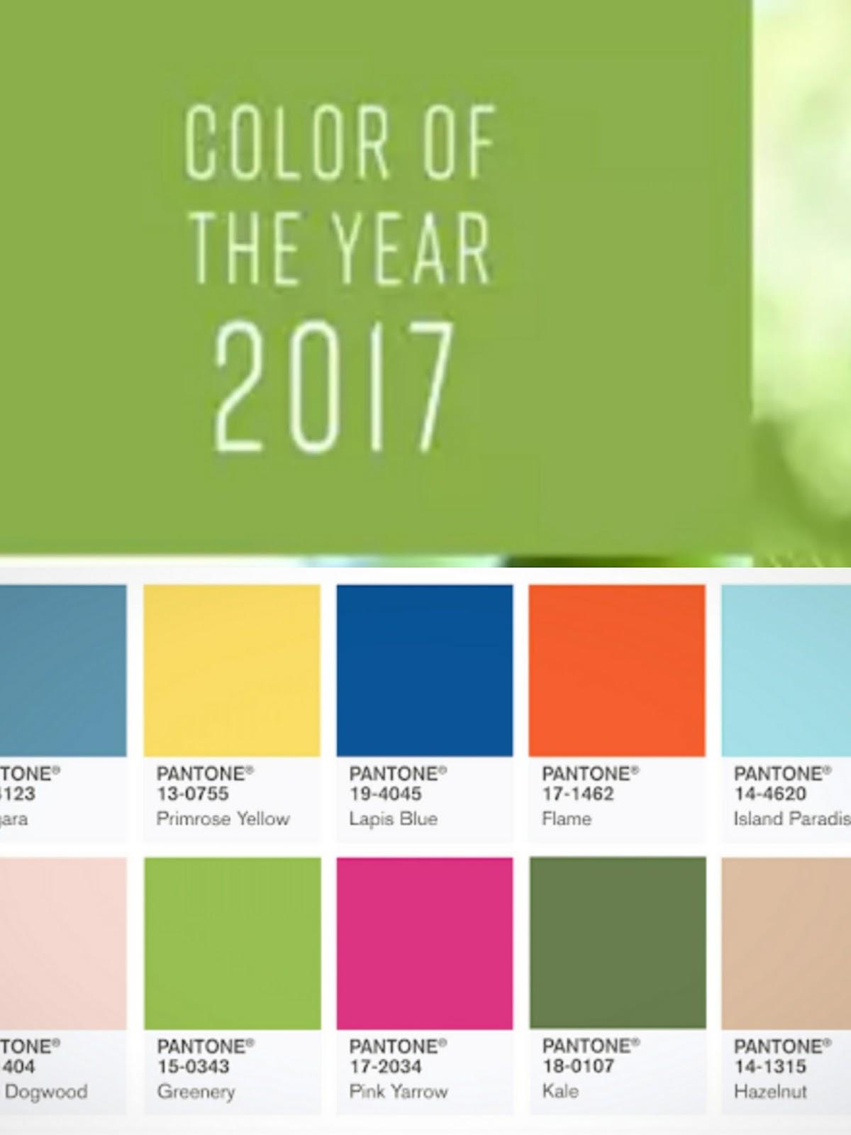 Haspita Hasibuan: Trend Colors in 2017