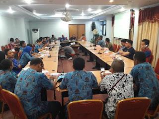 Pemprov Sulut Terima Kunjungan Job Training Biro Humas Protokol Papua Barat
