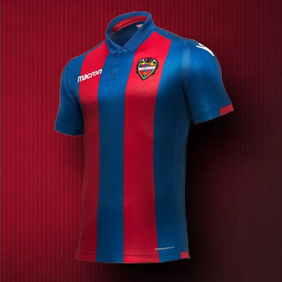 Levante 18-19 Home Kit Revealed - Footy Headlines