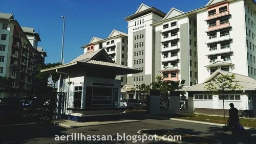 Hantar Adik ke Pusat Asasi UiTM Dengkil, Selangor