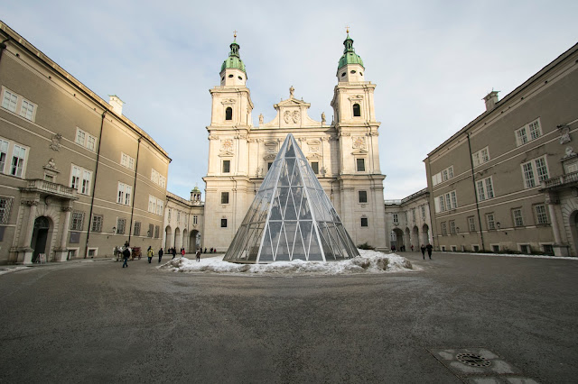 Duomo in Domplatz-Salisburgo