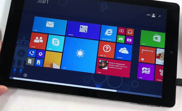 Chuwi Hi10 Tablet Dal-Boot Os Android dan Windows 10