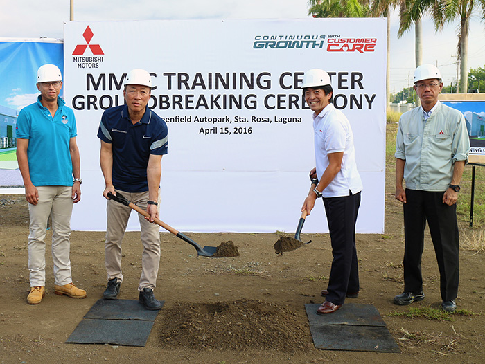 Mitsubishi Motors Philippines to build P100 Million worth Training Facility