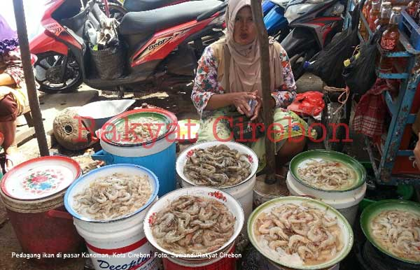 pasokan ikan ke pasar kanoman cirebon berkurang
