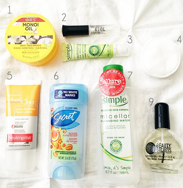travel body care essentials, summer beauty essentials