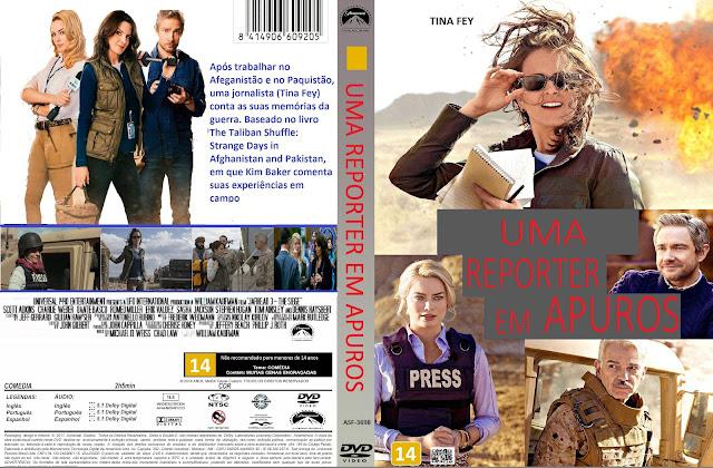 Capa DVD Uma Repórter Em Apuros