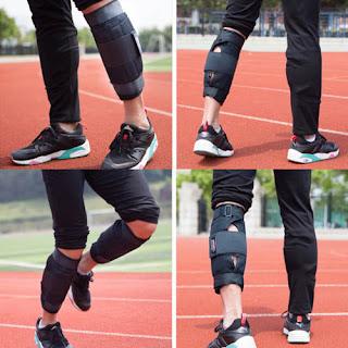 Tạ 4 - 5 KG ôm sát chân,tay giúp tăng sức mạnh và dẻo dai của chân và tay