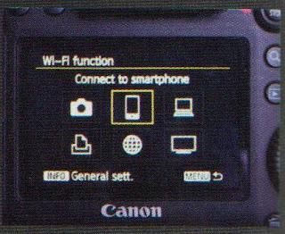 Langkah-Langkah mengaktifkan Wi-Fi din EOS