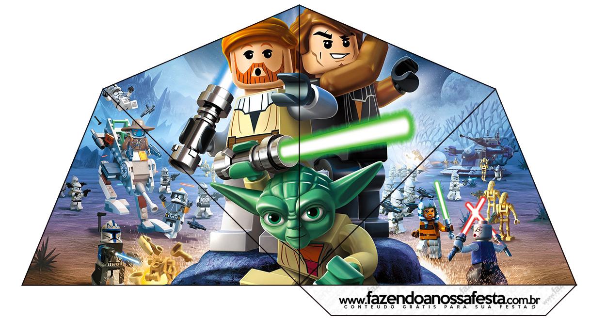 Star Wars Lego Free Printable Cones