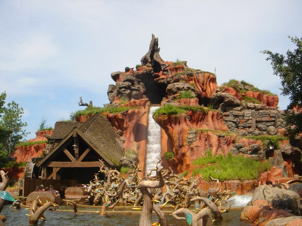 Splash Mountain no Magic Kingdom na Disney em Orlando