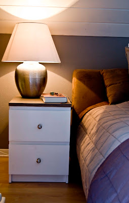 the nightstands and bedroom reveal part one. Black Bedroom Furniture Sets. Home Design Ideas
