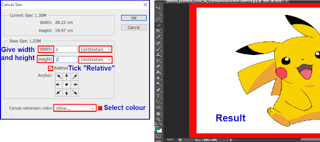 Give Border To Image In Photoshop