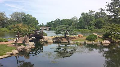 Jackson Park à Chicago jardins japonais
