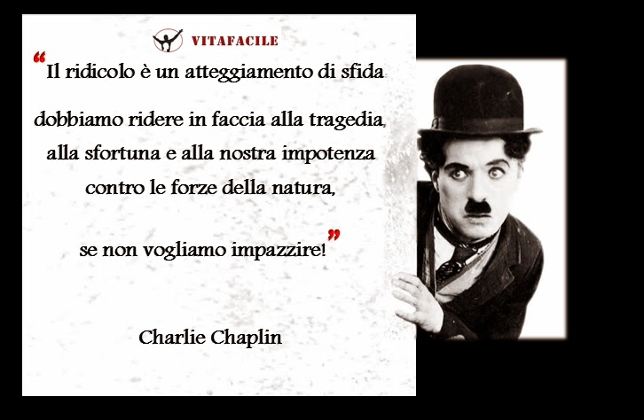 Famoso The inspirational daily quote: Charlie Chaplin - VITAFACILE: la  FN79