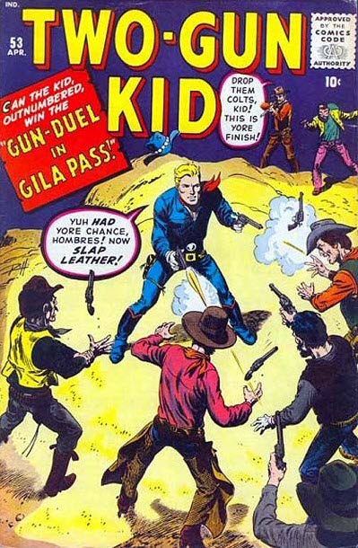 Jack Kirby Two-Gun Kid