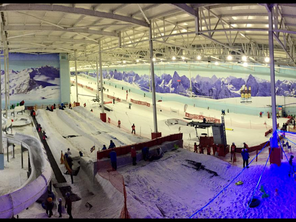 Saturday Morning Visit To Mini Moose Land At Chill Factore