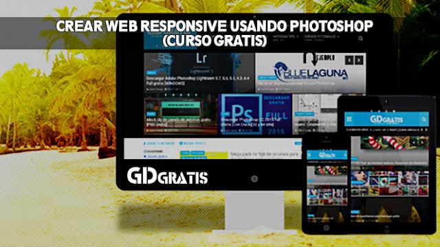 crear web responsive con photoshop