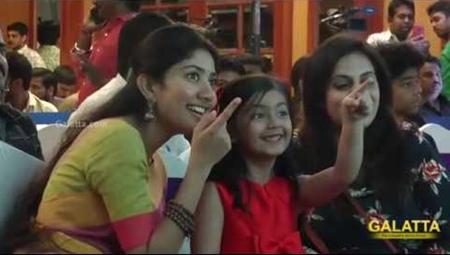 Sai Pallavi Co-Star Baby Veronika Cute Speech   Karu Audio Launch