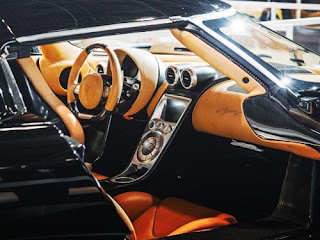 2016 Koenigsegg Regera Cabin Interior