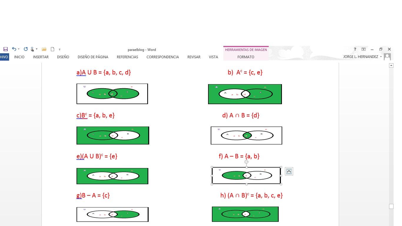 Probabilidad Y Estad U00cdstica  Cbtis 135   Diagramas De Venn
